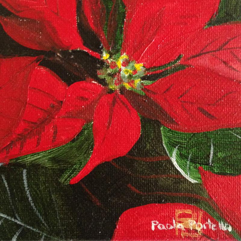 Poinsettia 10x10